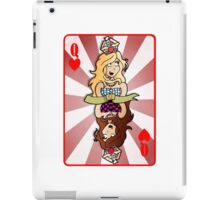 Queen Hearts Card iPad Case/Skin