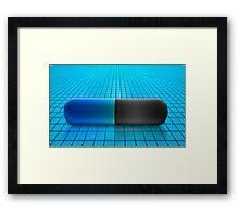 pill Framed Print