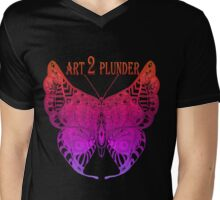 A2P Butterfly 2 Mens V-Neck T-Shirt