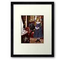 Victoriana Framed Print