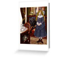 Victoriana Greeting Card