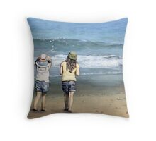 Onshore Breeze Throw Pillow