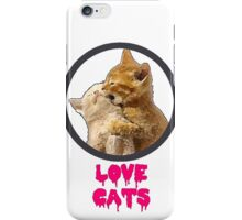 Love Cats iPhone Case/Skin