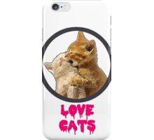 Love Cats iPhone Case/Skin