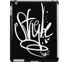 Enuf Style (White Print) iPad Case/Skin