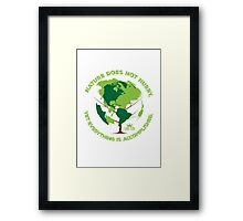 Nature Does Not Hurry Framed Print