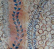 Curvaceous Vineyard Swirls and Circle Designs by sherischart