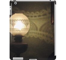 Lovely Lamp, Pretty Pattern iPad Case/Skin