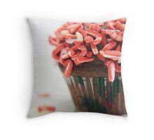 Candy cane minis-2 Throw Pillow