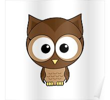 Brown owlet Poster
