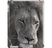 Lion Man - Photographic Nature Print iPad Case/Skin
