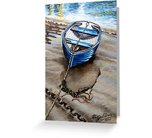 High but not dry. Greeting Card