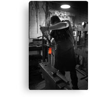 Hardening & Quenching A Sword  Canvas Print