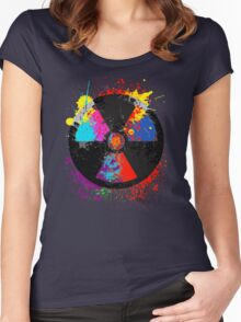 Color Radiation Women's Fitted Scoop T-Shirt