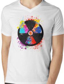 Color Radiation Mens V-Neck T-Shirt