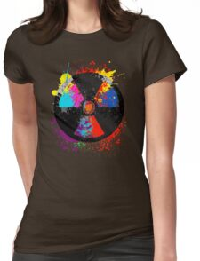Color Radiation Womens Fitted T-Shirt