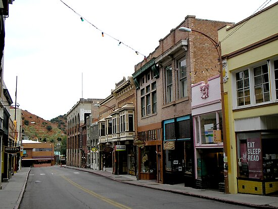 Old Bisbee by Ann Warrenton