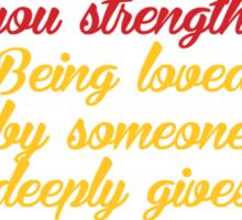 To Love Sticker
