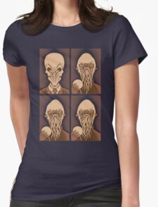 Ood One Out - Silent Womens Fitted T-Shirt