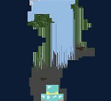 Minecraft Cave by HorseMafia