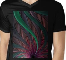 Thistle T-Shirt 2 Mens V-Neck T-Shirt