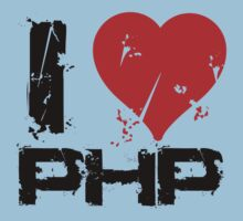 I Love PHP Kids Tee