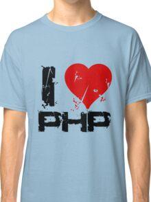 I Love PHP Classic T-Shirt