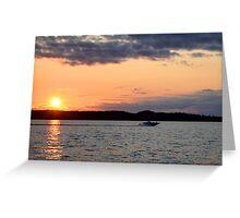 Torch Lake (Michigan)  Greeting Card