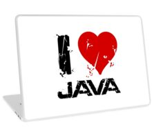 I Love Java Laptop Skin