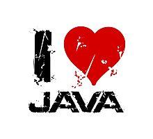 I Love Java Photographic Print