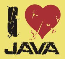 I Love Java Kids Tee