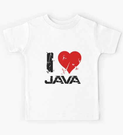 I Love Java Kids Tee