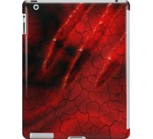 Red Ghoulish Claw iPhone & iPad iPad Case/Skin
