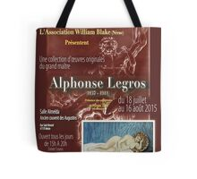 Affiche design -EXPOSITION ALPHONSE LEGROS -FRANCE- Tote Bag