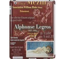 Affiche design -EXPOSITION ALPHONSE LEGROS -FRANCE- iPad Case/Skin