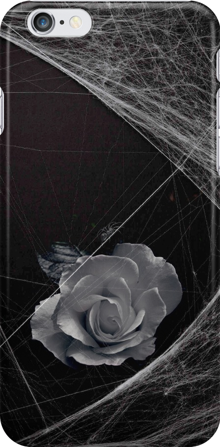 Gothic Rose iPhone cover by patjila