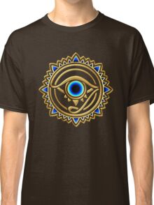 Nazar - protection amulet - eye of providence - all seeing eye, Horus Classic T-Shirt