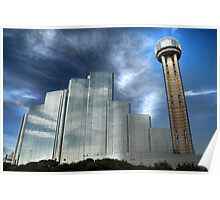 The Hyatt Regency & Reunion Tower - Dallas Poster