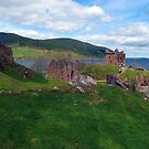 Urquhart Castle, Scotland by trish725