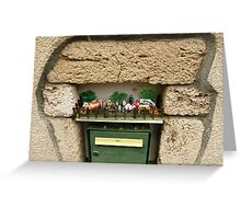 Funny letterbox! Greeting Card
