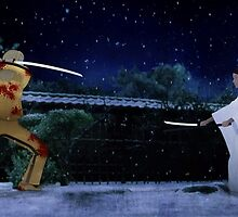 Kill Bill - The Bride vs Oren Ishii by pulsenorth