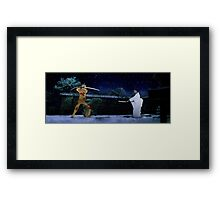 Kill Bill - The Bride vs Oren Ishii Framed Print