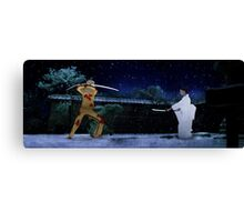 Kill Bill - The Bride vs Oren Ishii Canvas Print