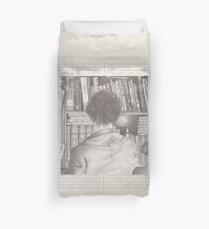 The Consulting Detective Duvet Cover