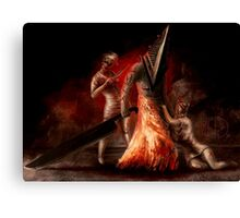 Pyramid Head - Fan Art Canvas Print