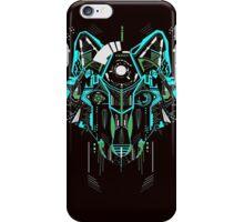 Digital Wolf w/o wording iPhone Case/Skin