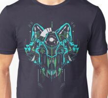 Digital Wolf w/o wording Unisex T-Shirt