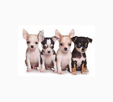Four cute chihuahua puppy Unisex T-Shirt