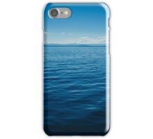 calm waters iPhone Case/Skin