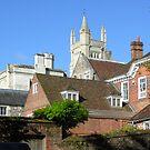 Winchester College from College Street, Winchester, southern England by Philip Mitchell